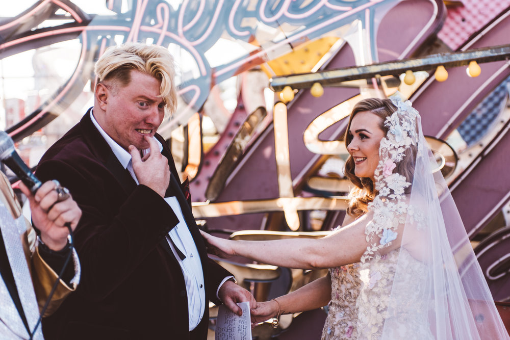Neon Museum Elopement Elvis Elopement Las Vegas Photography by Ashley Marie-73.jpg