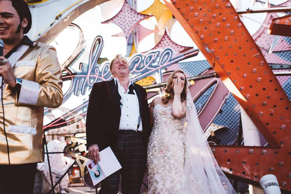 Neon Museum Elopement Elvis Elopement Las Vegas Photography by Ashley Marie-94.jpg