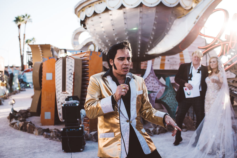 Neon Museum Elopement Elvis Elopement Las Vegas Photography by Ashley Marie-99.jpg
