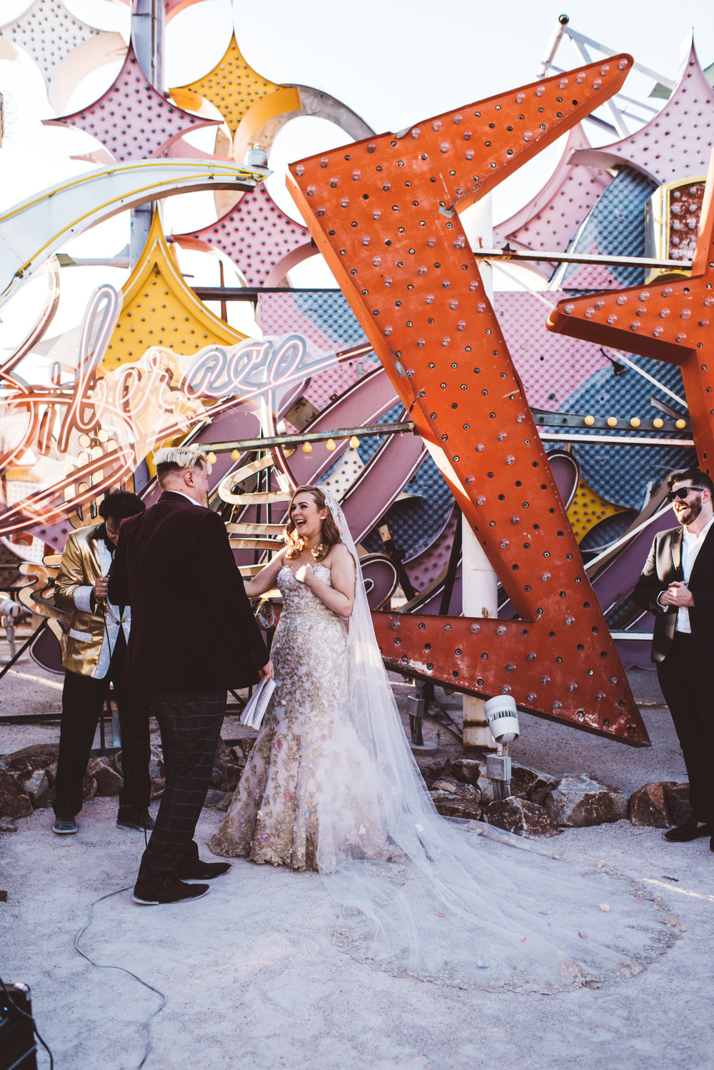 Neon Museum Elopement Elvis Elopement Las Vegas Photography by Ashley Marie-121.jpg