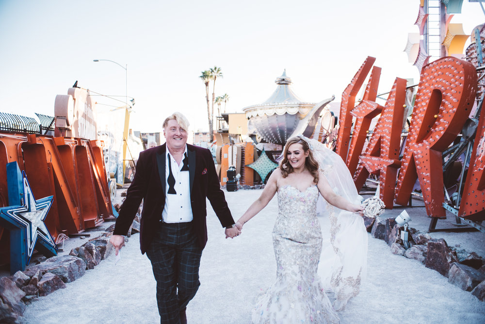 Neon Museum Elopement Elvis Elopement Las Vegas Photography by Ashley Marie-178.jpg