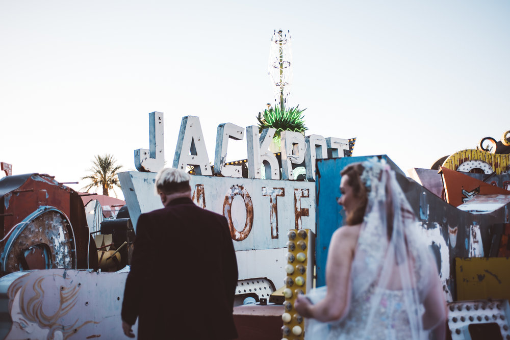 Neon Museum Elopement Elvis Elopement Las Vegas Photography by Ashley Marie-243.jpg