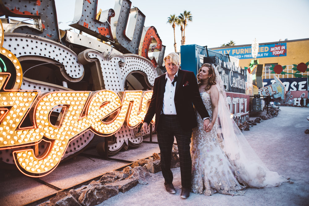 Neon Museum Elopement Elvis Elopement Las Vegas Photography by Ashley Marie-259.jpg