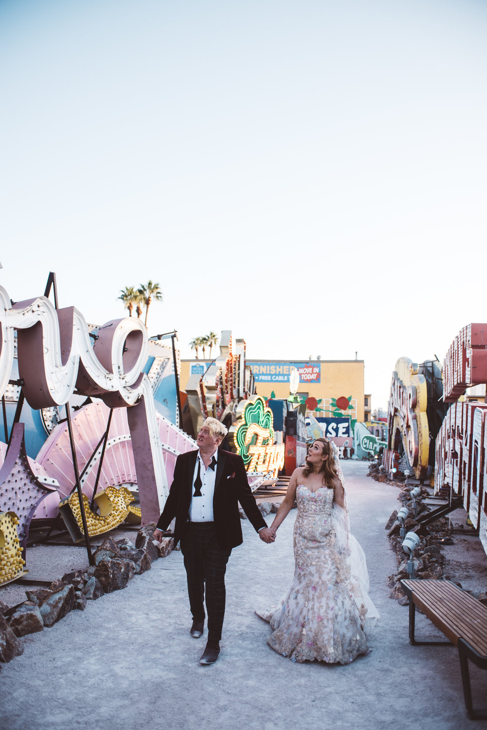Neon Museum Elopement Elvis Elopement Las Vegas Photography by Ashley Marie-266.jpg