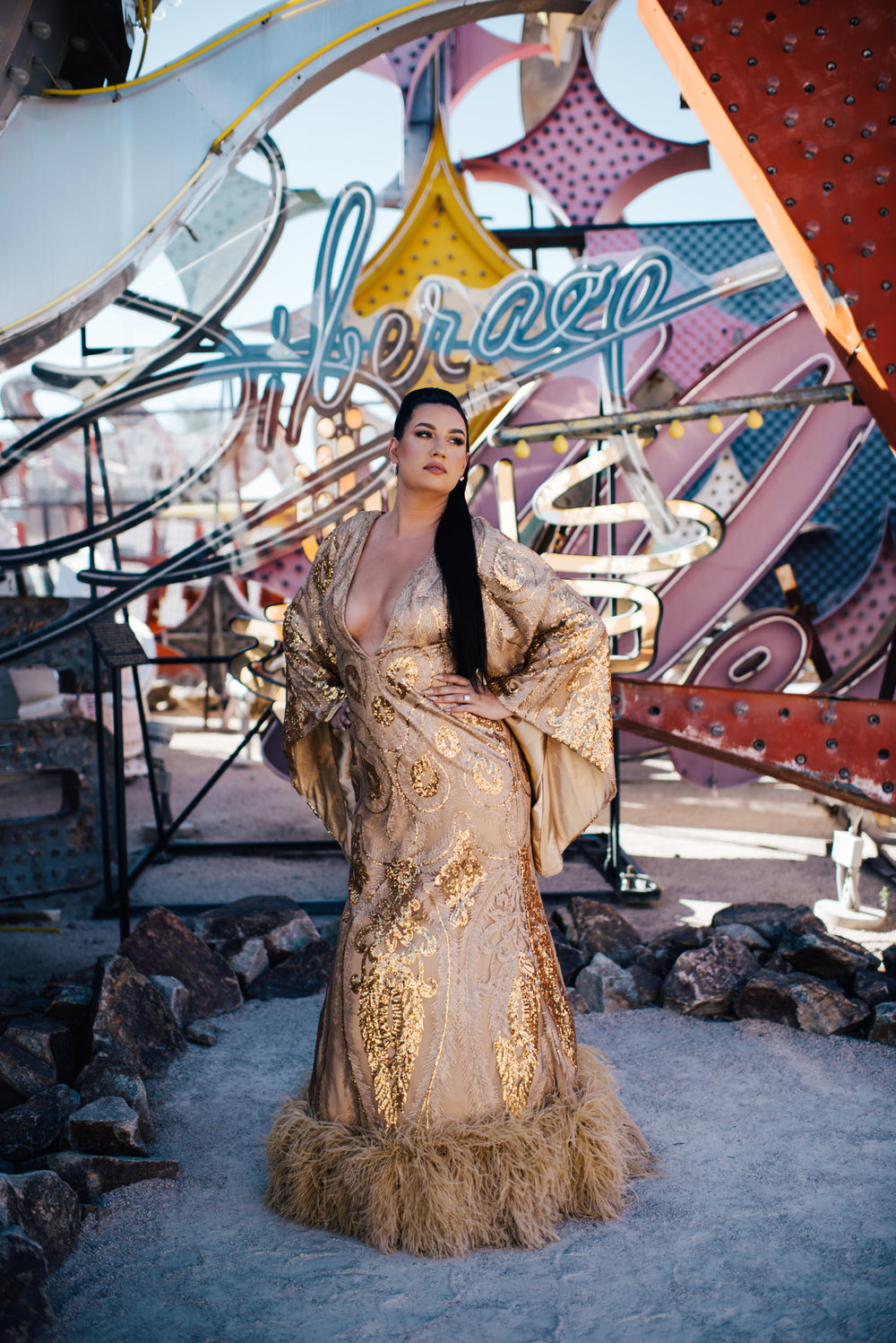 Las Vegas Elopement Neon Museum Ashley Marie Myers Downtown Las Vegas-138.jpg