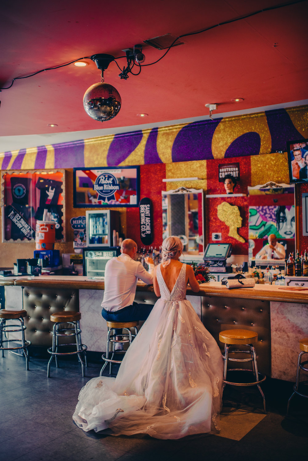 Las Vegas Elopement Rock n Roll Bride elopement Smoke Bomb-35.jpg