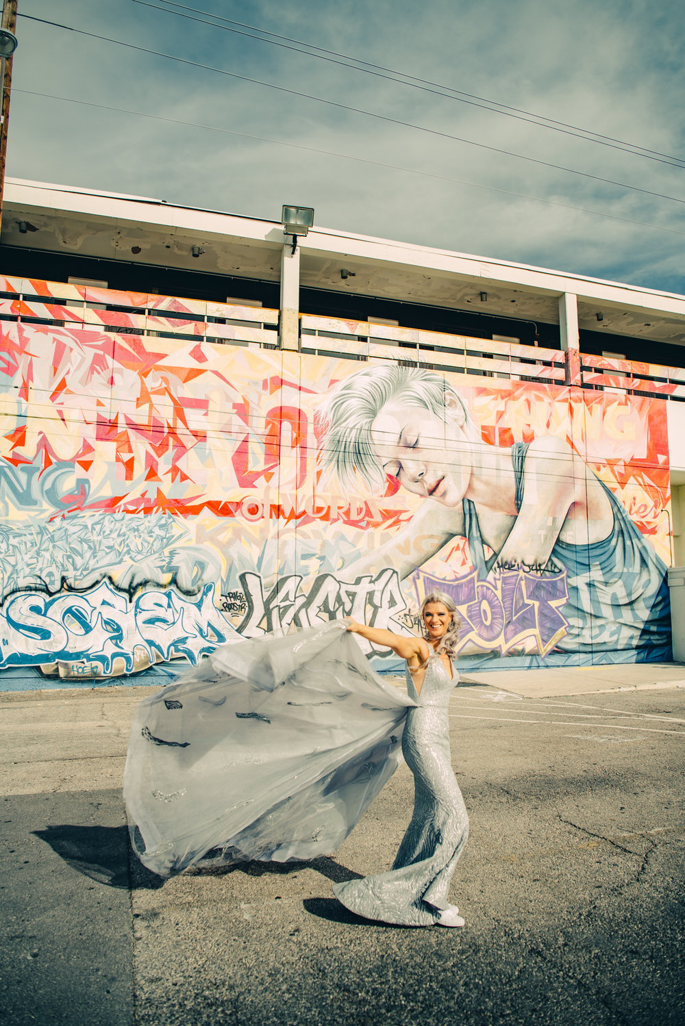 Las Vegas Elopement Rock n Roll Bride elopement Smoke Bomb-95.jpg