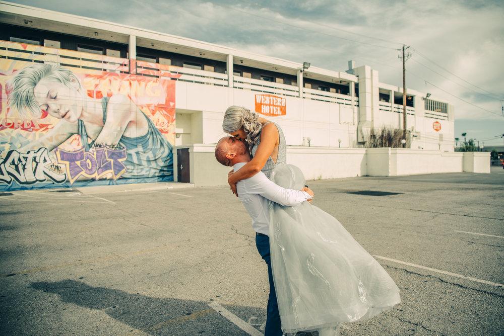 Las Vegas Elopement Rock n Roll Bride elopement Smoke Bomb-111.jpg