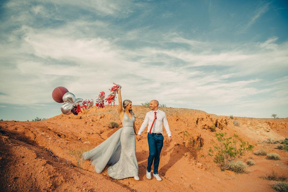 Las Vegas Elopement Rock n Roll Bride elopement Smoke Bomb-163.jpg