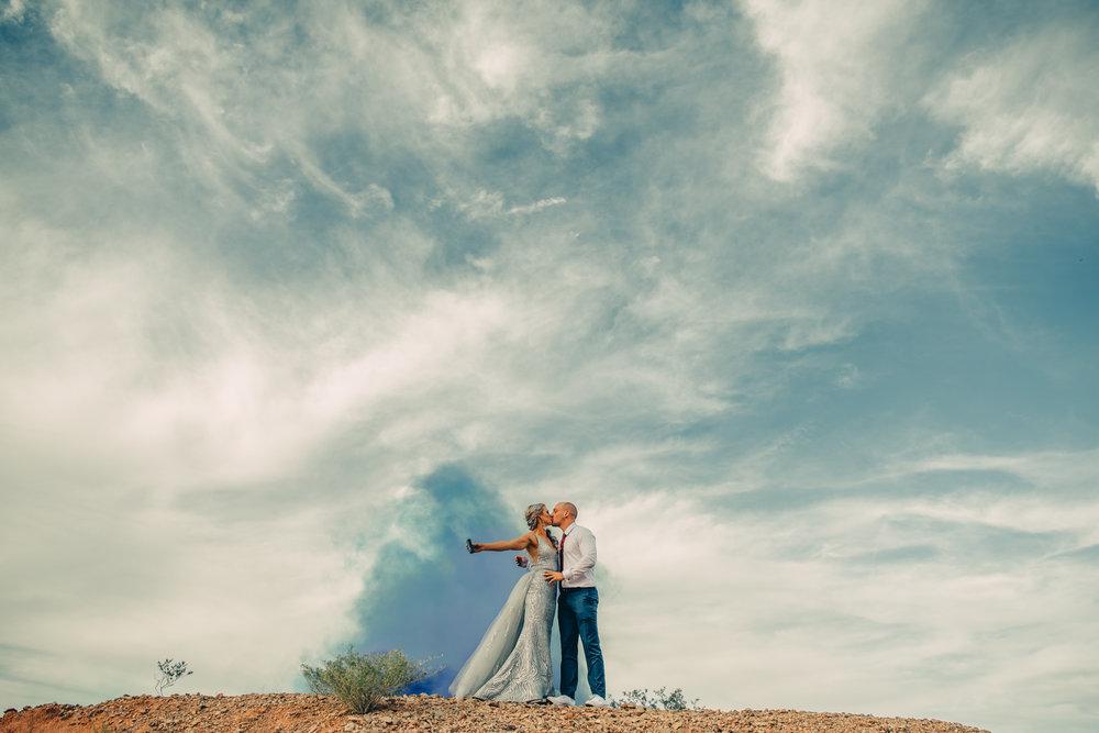 Las Vegas Elopement Rock n Roll Bride elopement Smoke Bomb-174.jpg
