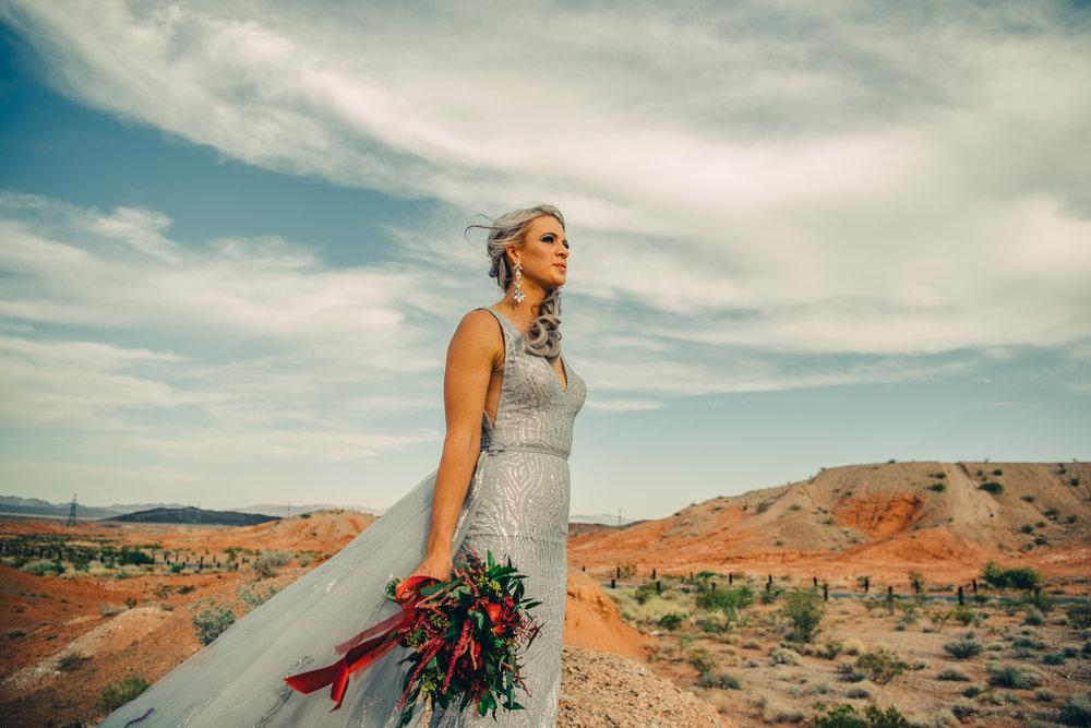 Las Vegas Elopement Rock n Roll Bride elopement Smoke Bomb-180.jpg