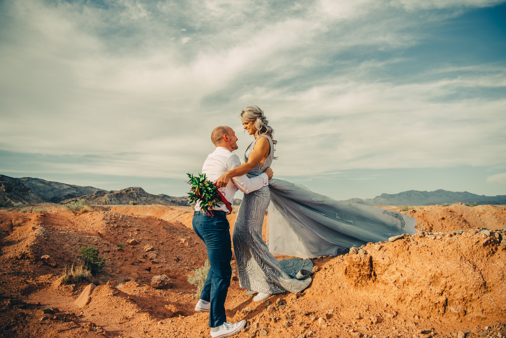 Las Vegas Elopement Rock n Roll Bride elopement Smoke Bomb-190.jpg