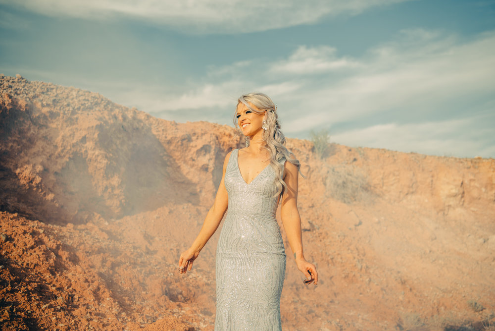 Las Vegas Elopement Rock n Roll Bride elopement Smoke Bomb-212.jpg