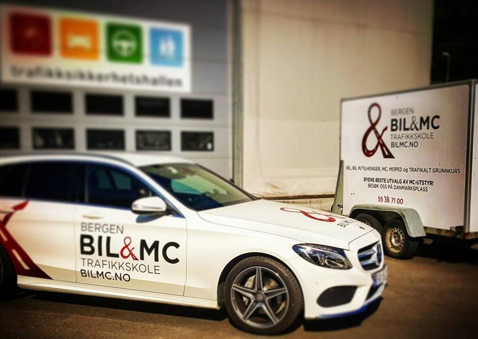 Bilmc tilhenger opplæring.