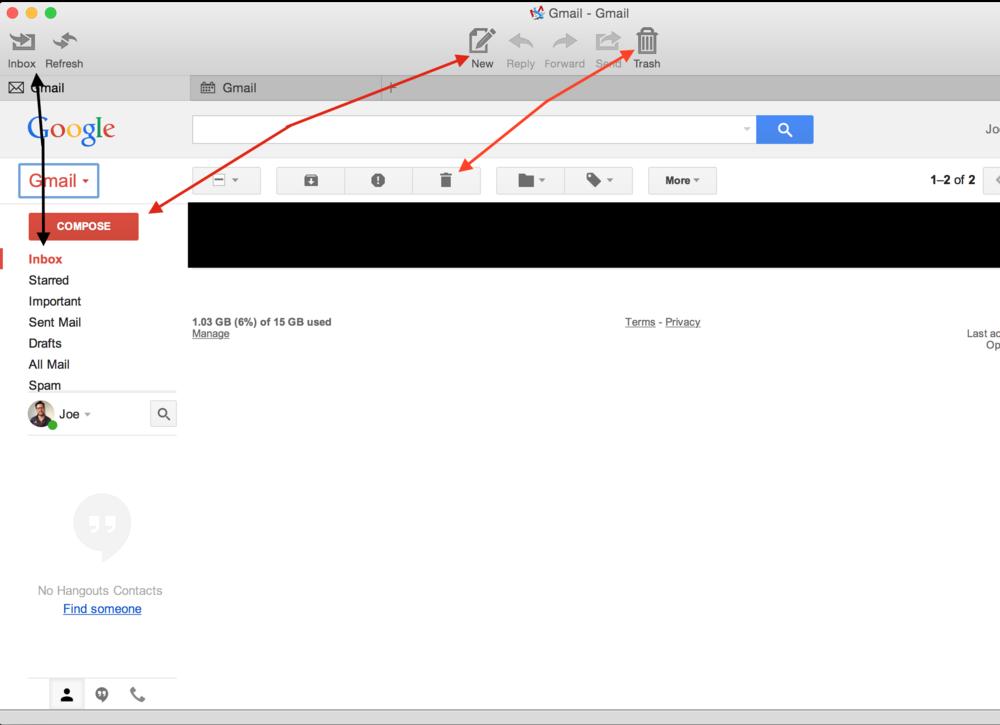 Mailplane UI