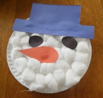 Snow man craft