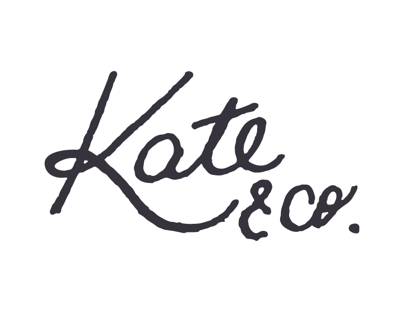 WEDDINGS & PORTRAITS BY kate&co.
