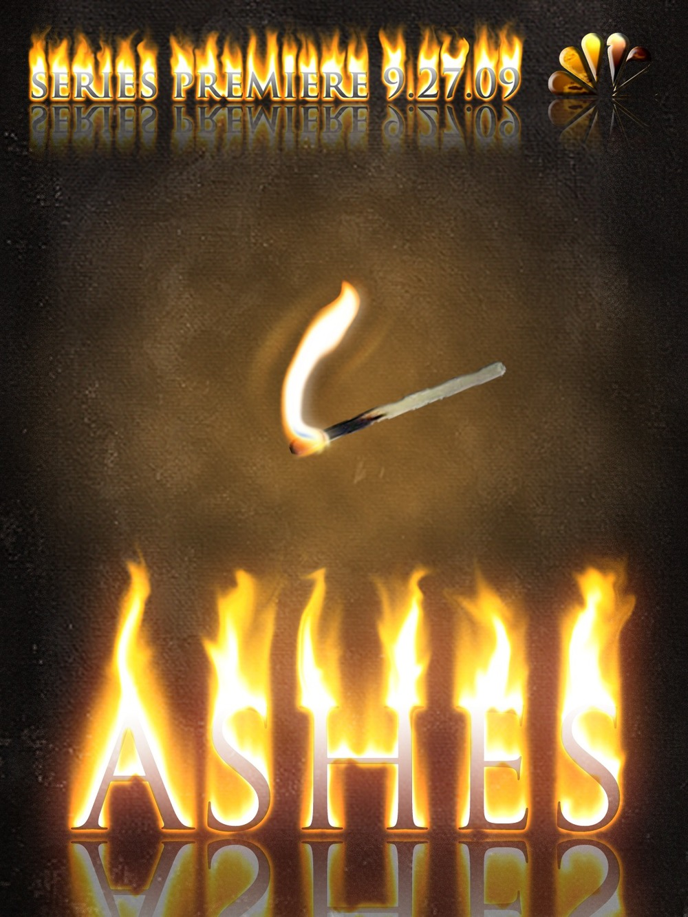 "Ashes - Series Premiere Poster""small talk never seemed so small"""