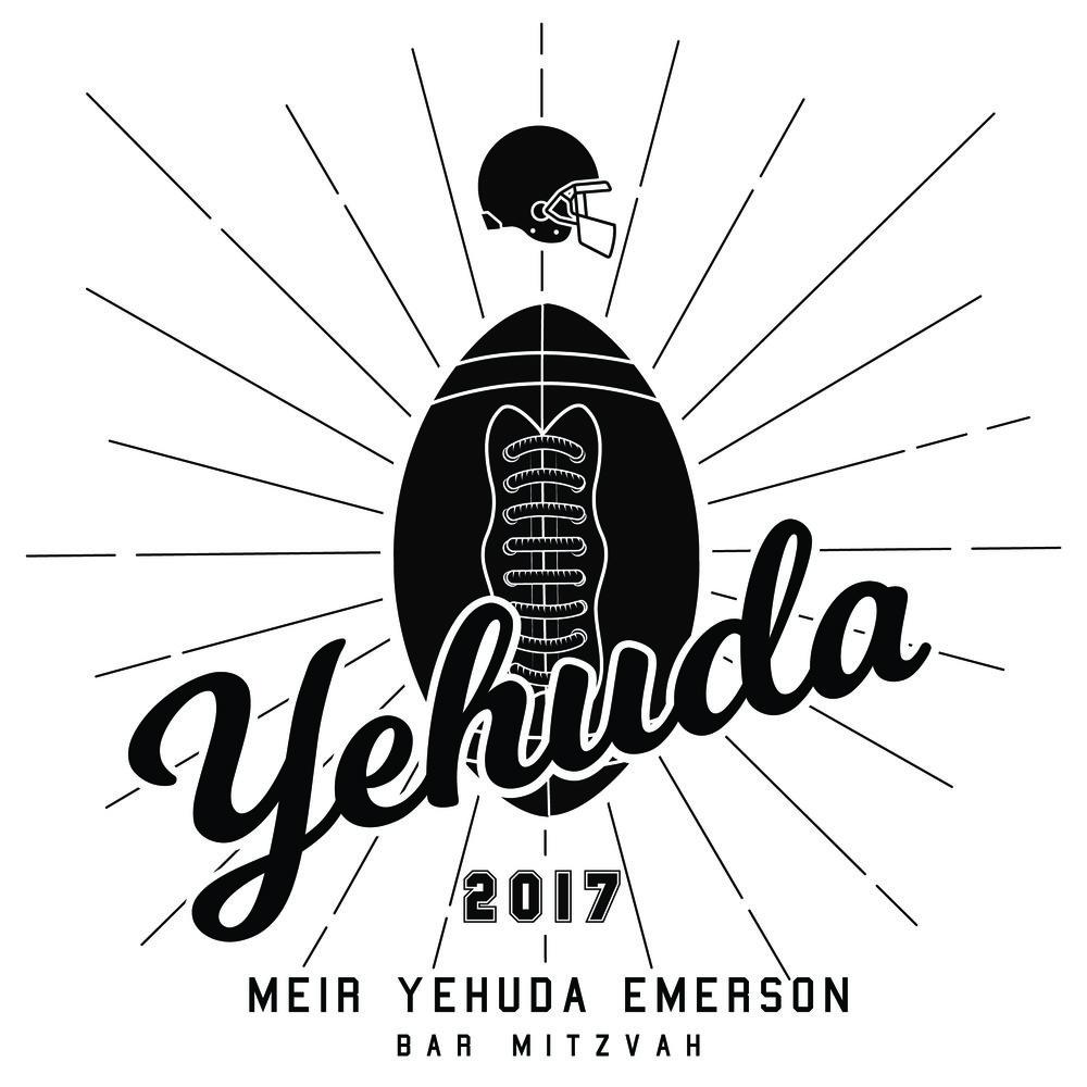 Yehuda, 2017 - Bar Mitzvah Logo