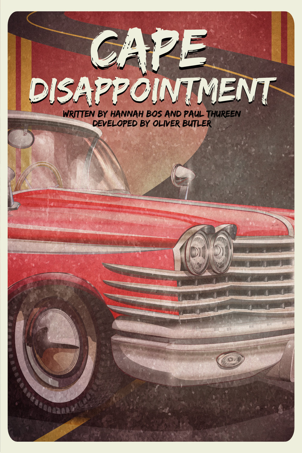 Cape Disappointment - Theatre Poster, New School Drama
