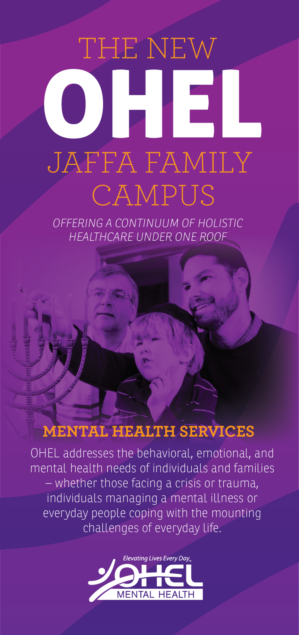 Mental Health Services - Rack Cards, Ohel