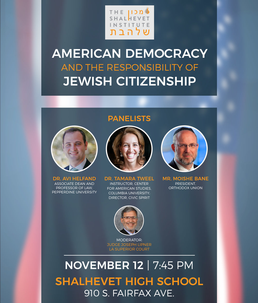 American Democracy - Ad, Shalhevet Institute
