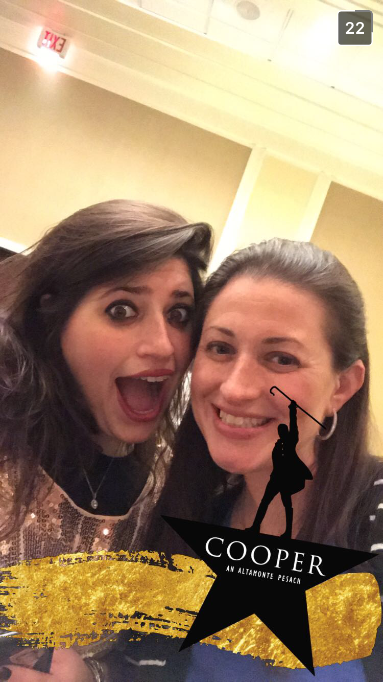 Cooper Pesach - Snapchat Geofilter