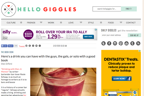 Hello Giggles - February 7, 2015