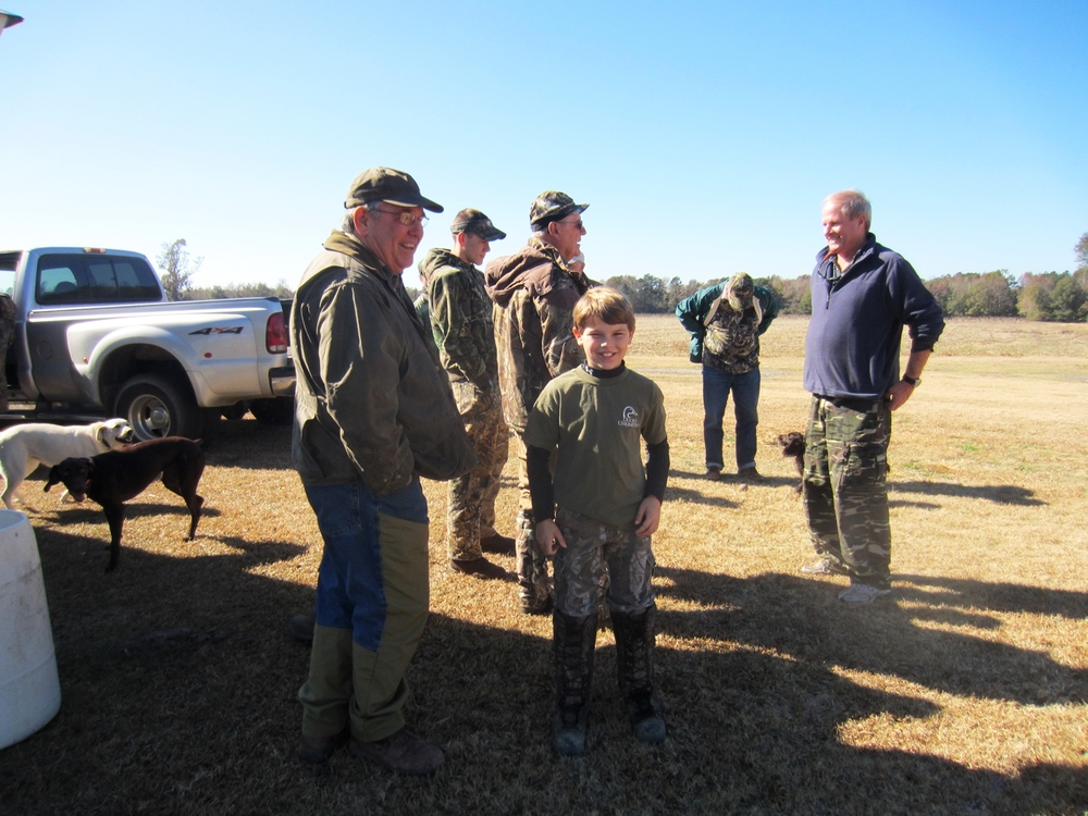 Redeemer family dove shoot - Tap or Click on the picture.