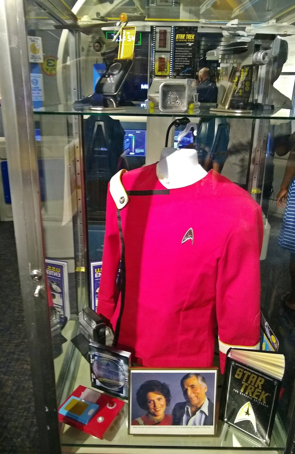 Actual Star Treck TV Series props
