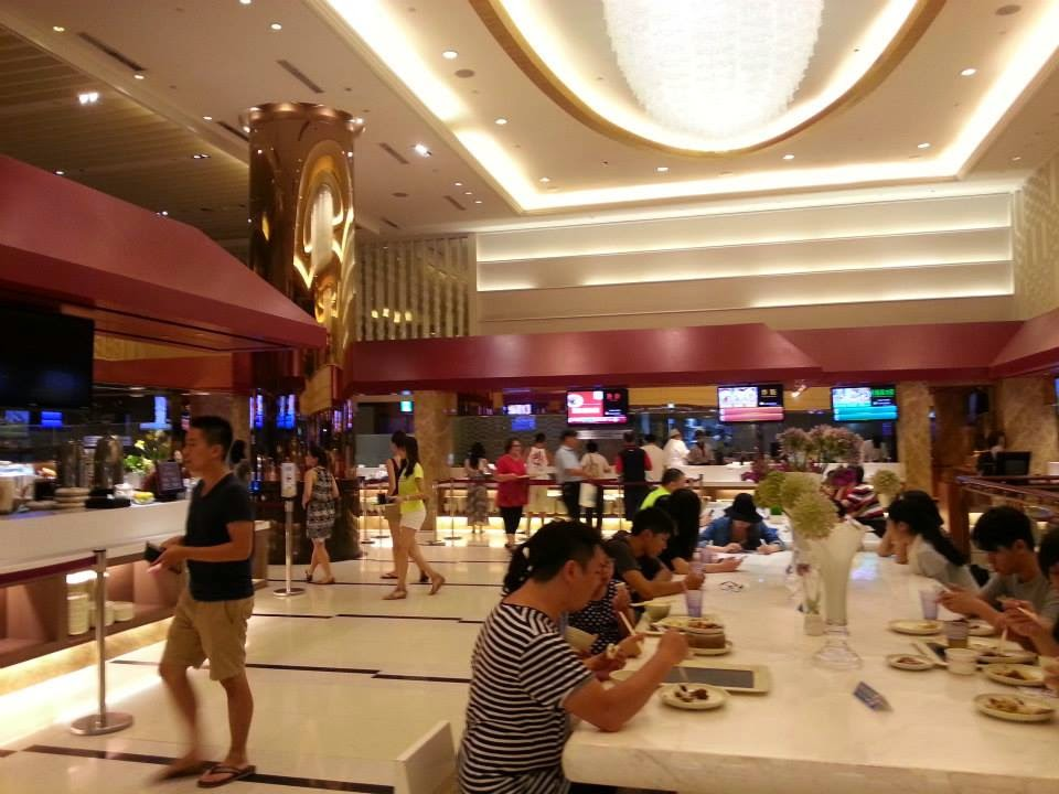 KTV boxes will also have a buffet where you can eat dinner. This is the one we went to at New CB Party KTV in Ximending (near Ximending MRT stop, shown in map below).