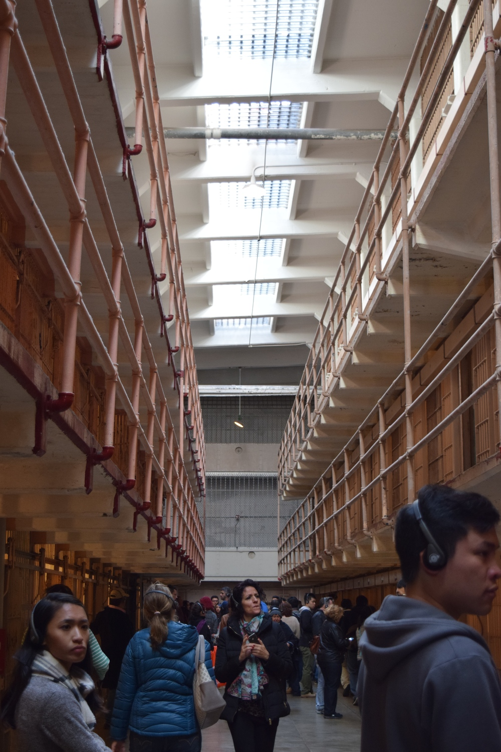 Each row of cells were 3 stories tall