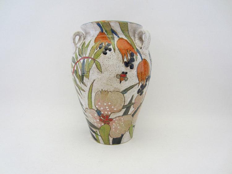 Small Vase Flowers Pigment Three Wheel Studio