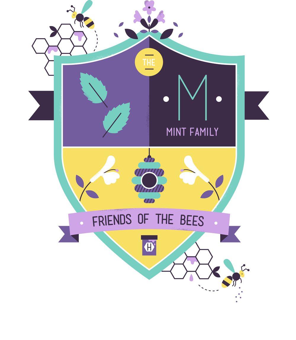 hannah+holly-illustration-cambridgeuniversitybotanicgarden-plantfamilies-crests-badges-mint-bees.jpg