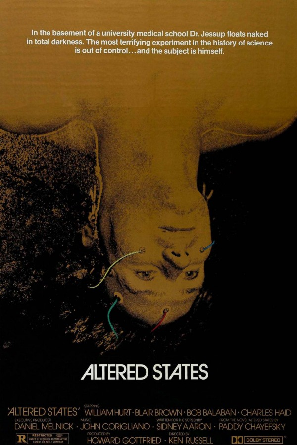Movie poster for Altered States (1980), via  Pulp International .