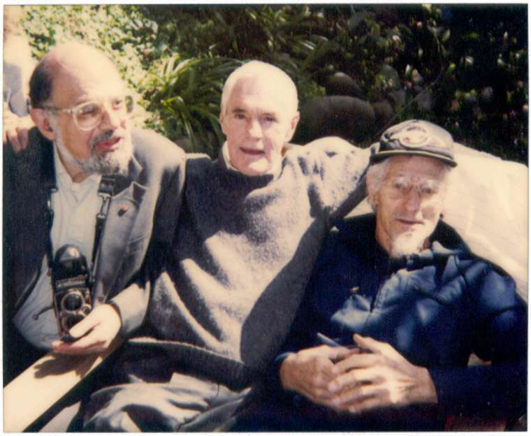 Allen Ginsberg, Timothy Leary, and John C. Lilly in 1991 (Wikimedia)