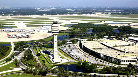 Orlando International Airport, Gateway to Walt Disney World Resort