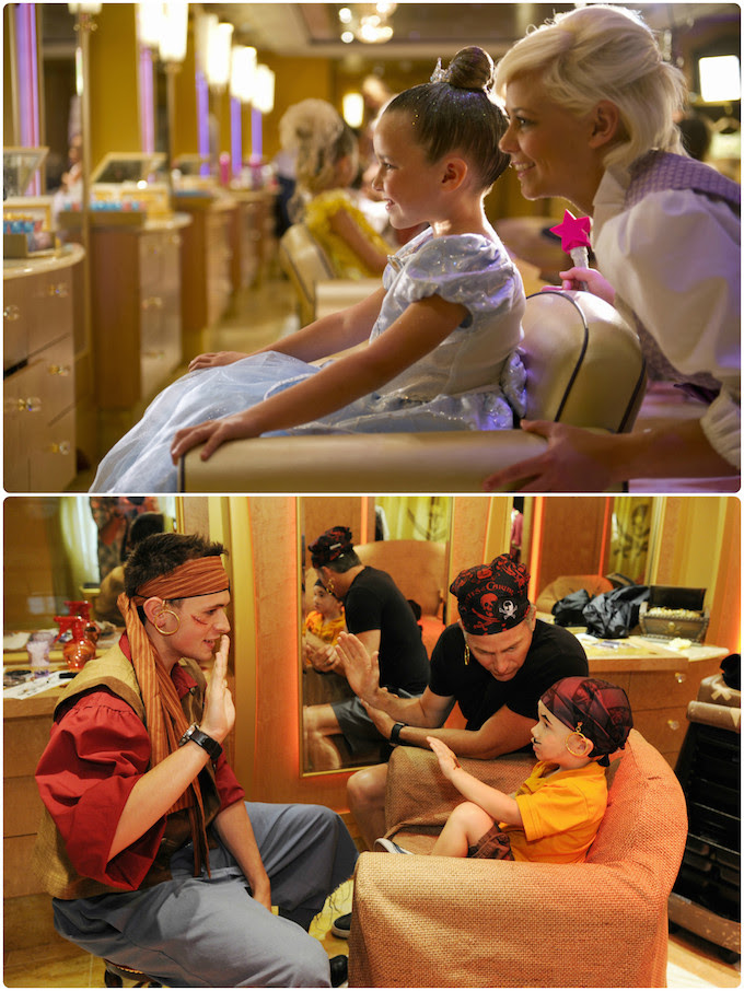 Bibbidi Bobbidi Boutique-Disney Cruise Line