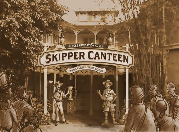 Skipper Canteen at Magic Kingdom