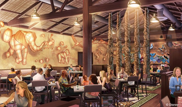 Tiffins coming to Disney's Animal Kingdom Theme Park