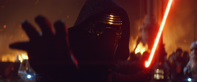 Kylo Ren is on his way to Walt Disney World Resort
