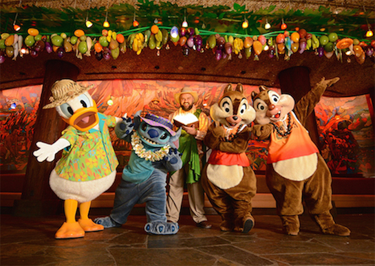 "BOOK ""MENEHUNE MISCHIEF""CHARACTER DINNER AT AULANI"