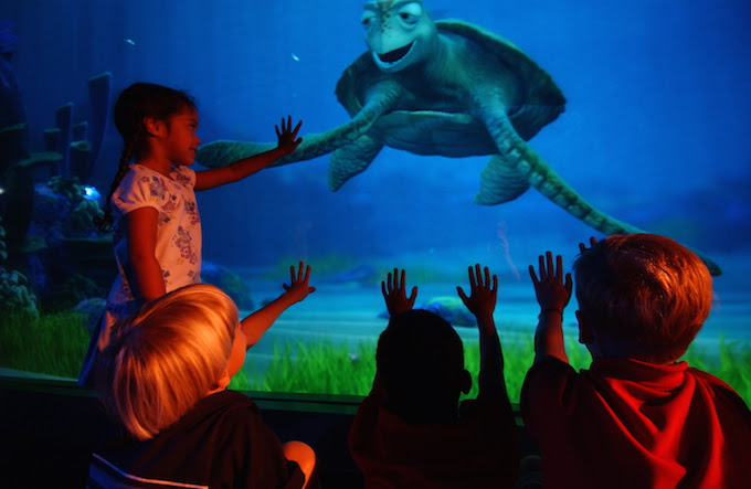 "Characters from Disney•Pixar's ""Finding Dory!"" to Join Turtle Talk with Crush This Summer"