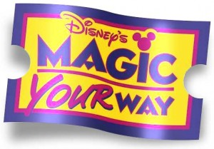 1-Day tickets no longer an option on Magic Your Way Packages at Walt Disney World Resort