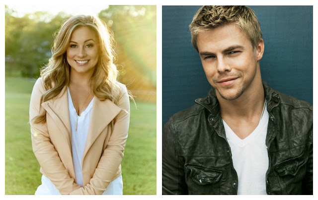 Invictus Games celebrity ambassadors – Shawn Johnson and Derek Hough of Dancing with the Stars fame.