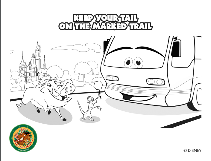 Free Disney World Coloring Pages — Save at Walt Disney World