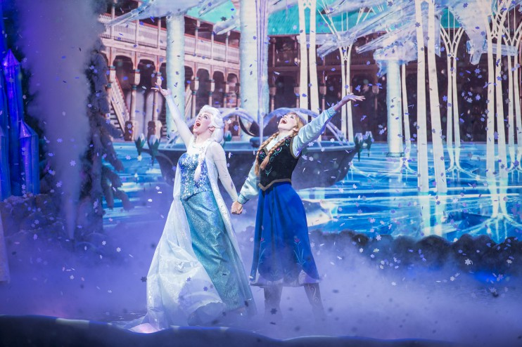 Where to find the Frozen Characters at Walt Disney World.