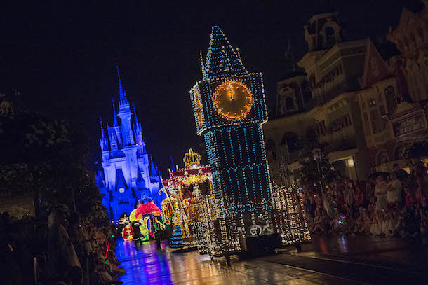 The Main Street Electrical Parade's farewell show will be Oct. 9, 2016.
