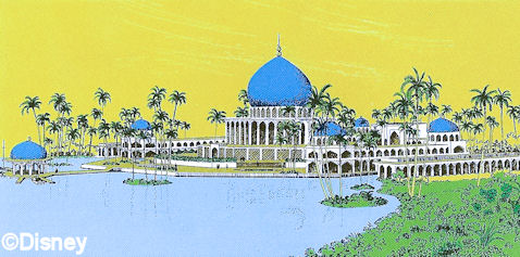 "Discover why the Persian Resort and many other projects were scrapped in a live show with Jim Hill and Len Testa in, ""The Disney That Didn't Get Built"" coming November 12, 2016 to New York."