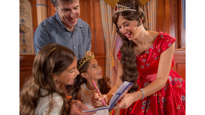 Meet Princess Elena of Avalor at Magic Kingdom Park Beginning November 24, 2016.